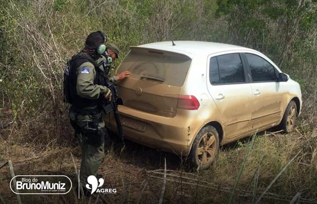 Veículo usado por criminosos em Santa Cruz do Capibaribe é localizado na Paraíba