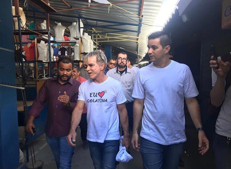 Prefeito de Colatina-ES visita Santa Cruz do Capibaribe
