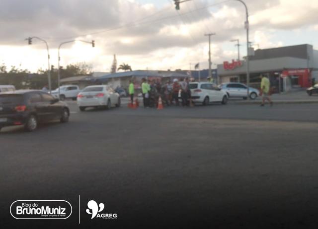 Acidente é registrado na rodovia PE-160, em Santa Cruz do Capibaribe
