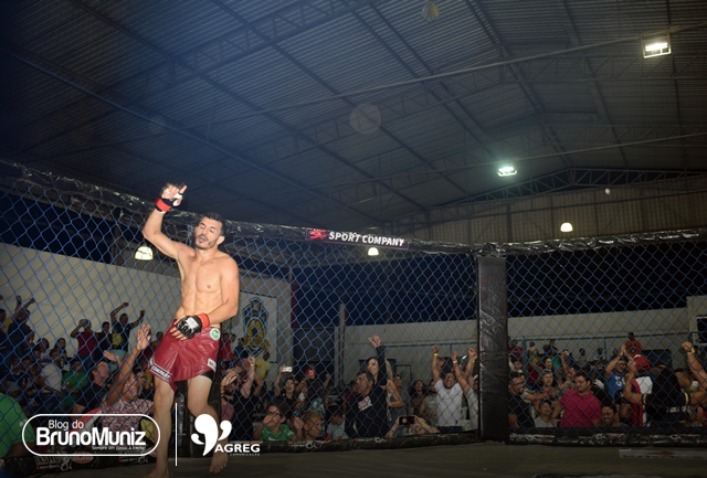 Um marco – Murilio Chacal participará do Jungle Fight, maior campeonato de MMA da América Latina