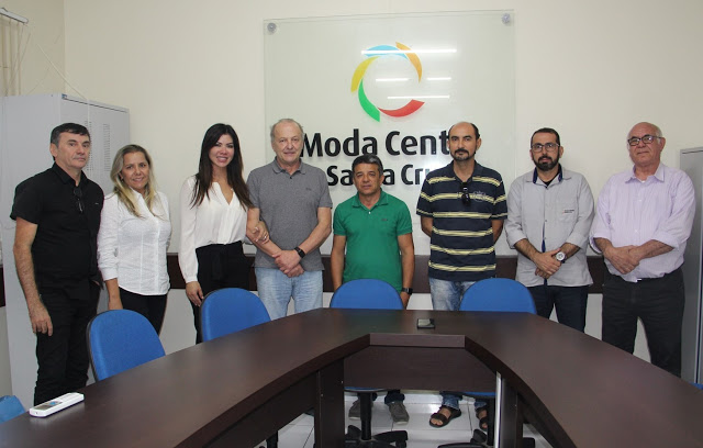 Vice-governador de Mato Grosso visita o Moda Center