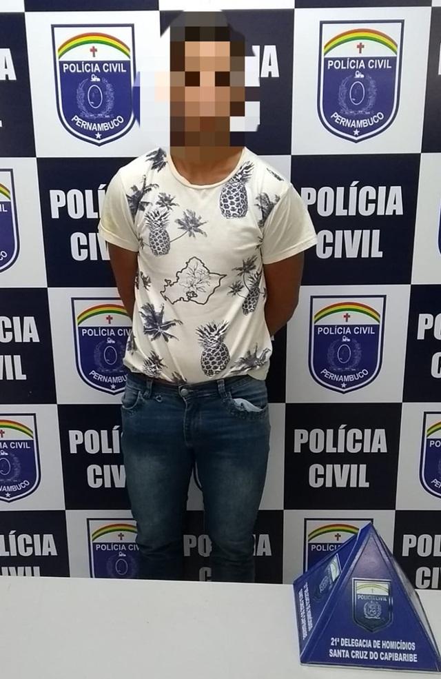 Policia cumpre mandato de prisão contra suspeito de homicídio em junho de 2018 no distrito de São Domingos