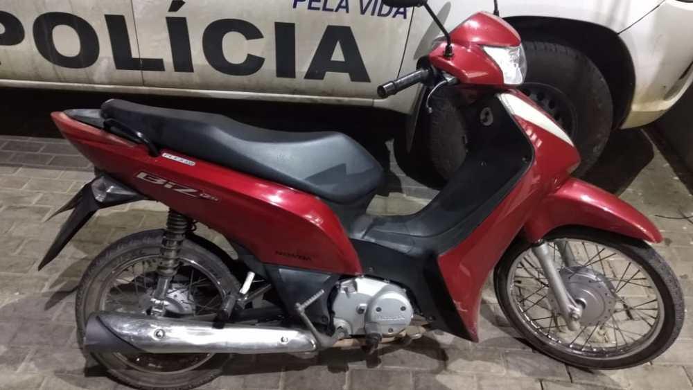 Moto roubada é recuperada em Santa Cruz do Capibaribe