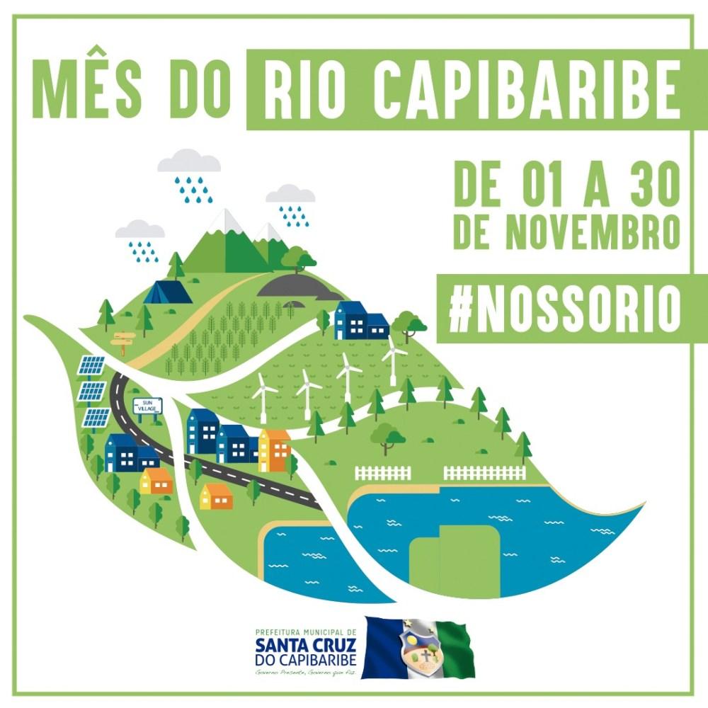 """""""Mês do Rio Capibaribe"""" lança programação de atividades ambientais e educativas em Santa Cruz do Capibaribe"""