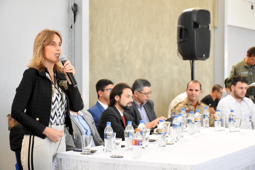 Em Santa Cruz do Capibaribe, Alessandra e Edson Vieira participaram do lançamento da Operação Têxtil 2019