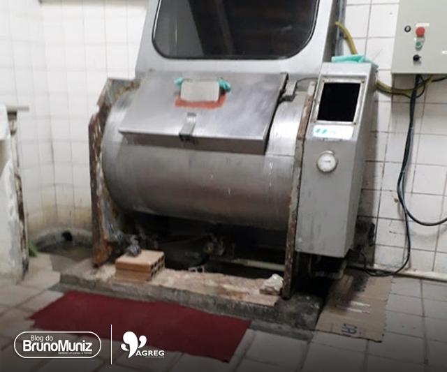 Equipamentos de saúde oferecidos a população de Santa Cruz do Capibaribe assustam pelo estado