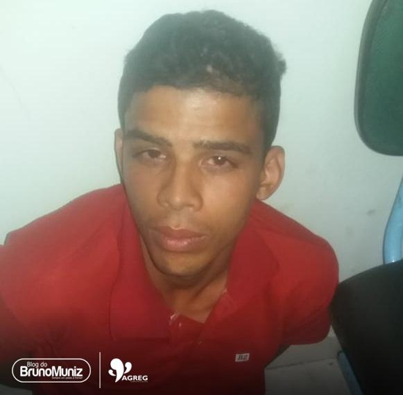 Rapaz é preso em flagrante por roubo em Jataúba