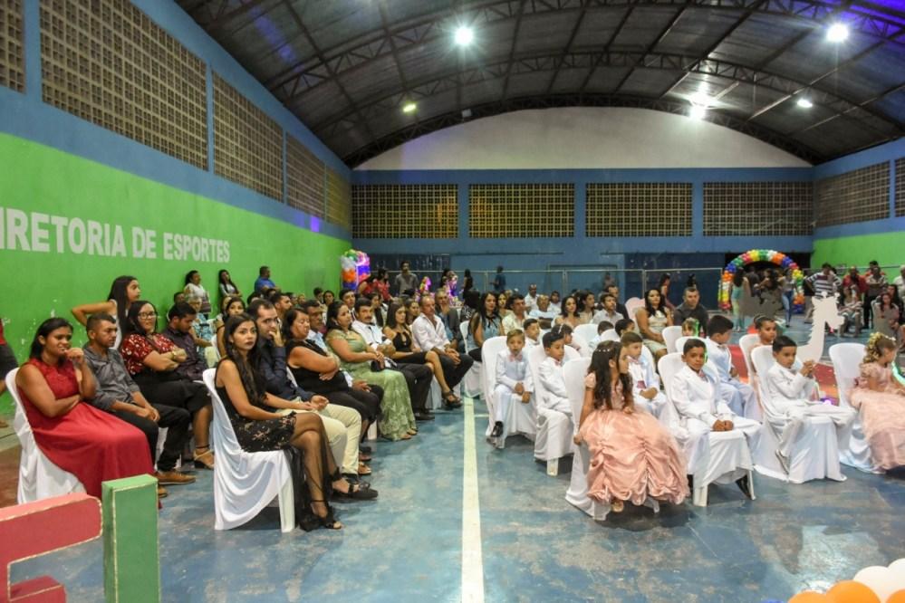Educação Infantil de Santa Cruz do Capibaribe realiza formatura nos distritos de Pará e Poço Fundo