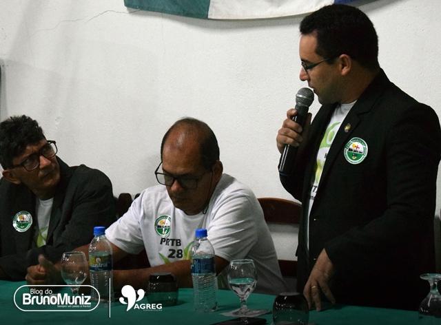 PRTB em Santa Cruz do Capibaribe lança pré-candidatura do comissário Denizio Duarte