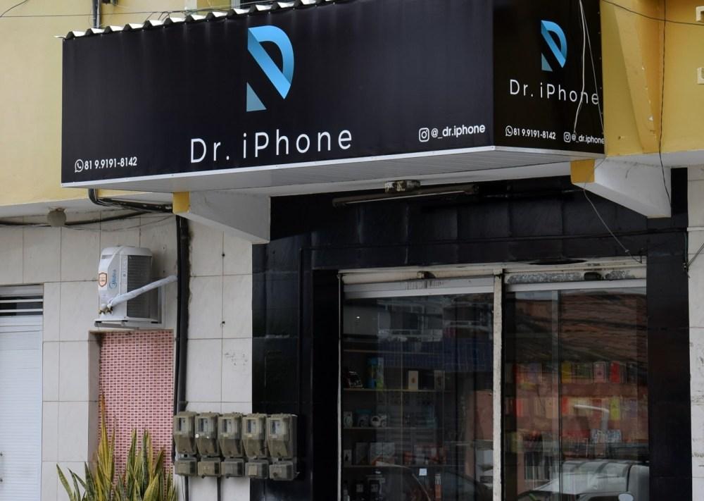 Blog Comércio – Loja Dr. Iphone está funcionando agora em novo endereço