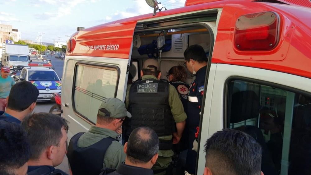 Acusado de tentativa de assalto é baleado em distrito de Taquaritinga do Norte