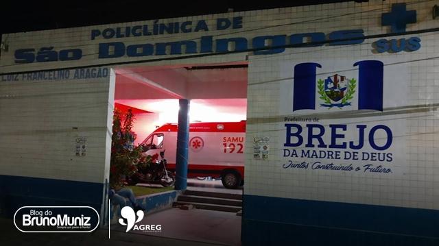 Casal com ferimentos nas mãos é socorrido em Policlínica de São Domingos