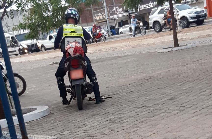 """""""Não representa a classe"""", se defendem profissionais após mototaxista atropelar gato supostamente de propósito"""