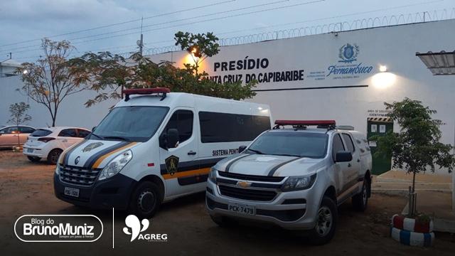 Polícia cumpre mandado de prisão contra acusado de homicídio em Santa Cruz do Capibaribe