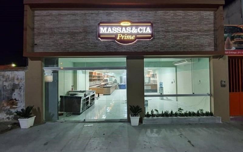 Massas & Cia Prime funcionará em novo endereço