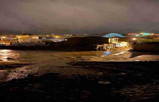 Barragem em Pernambuco rompe e atinge município do Estado de Alagoas