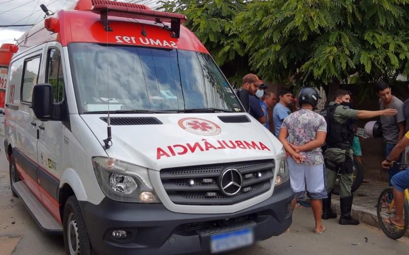 Perseguição termina com colisão entre motocicleta e viatura em Santa Cruz do Capibaribe