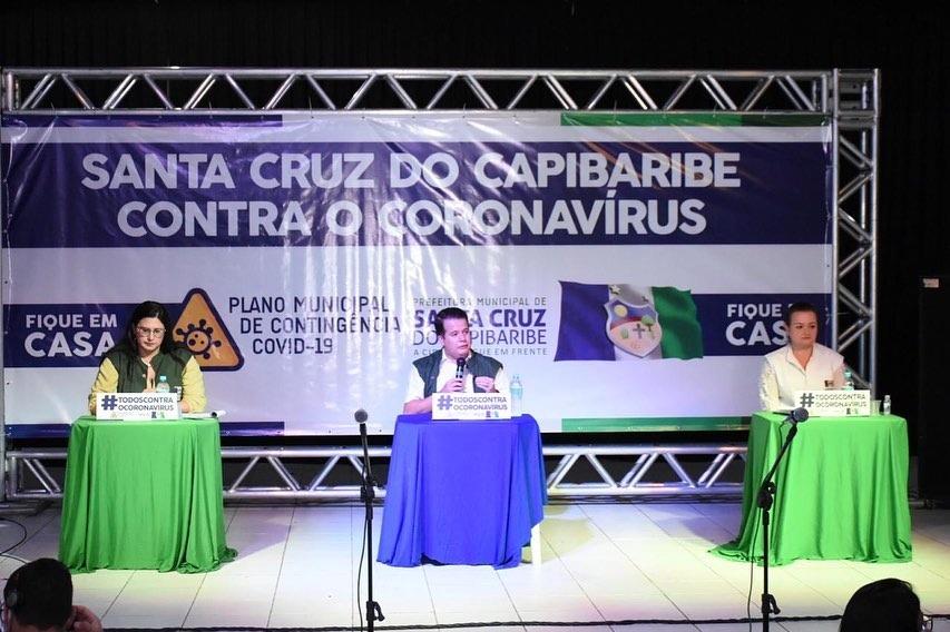 Comissão de combate ao Covid-19 em Santa Cruz do Capibaribe diz que paciente infectada não saiu da cidade