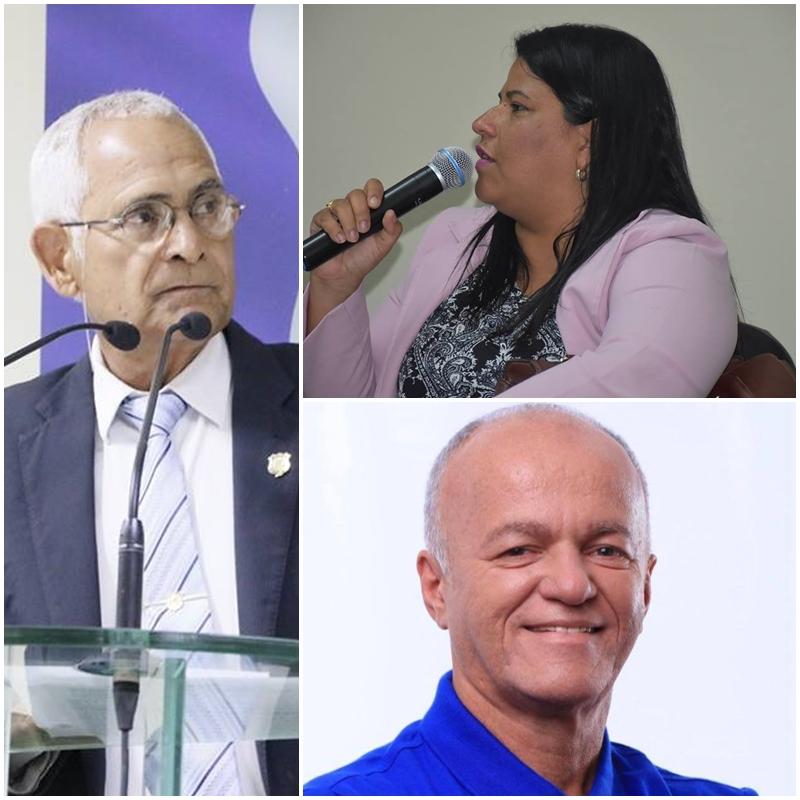 Jéssyca Cavalcanti, Dr. Nanau e José Bezerra da Costa disputarão reeleição pelo PSDB