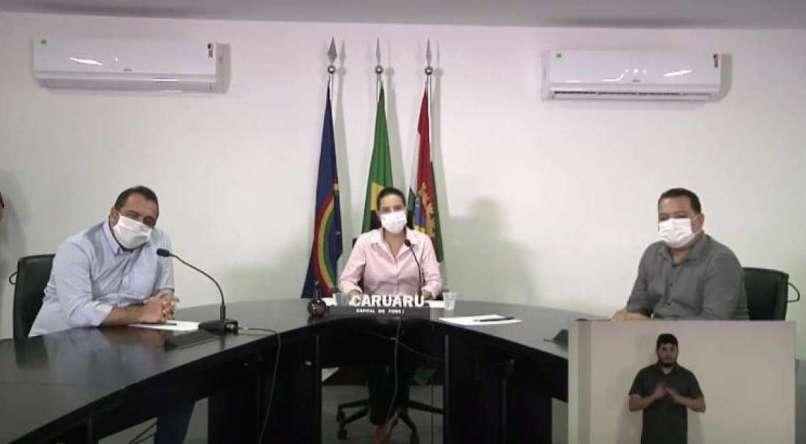Prefeitura de Caruaru anuncia novas medidas de contenção do coronavírus