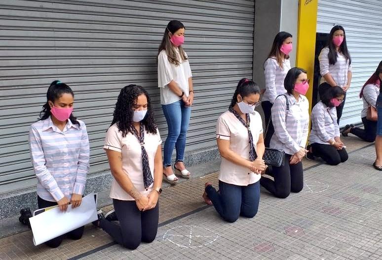 MPPB quer identificar empresários que obrigaram funcionários a se ajoelhar em protesto pela abertura do comércio em Campina Grande