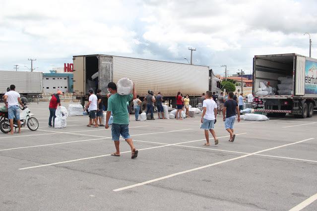 Agendamento de transportadoras para receber entregas no Moda Center e Calçadão recomeça nesta quinta-feira