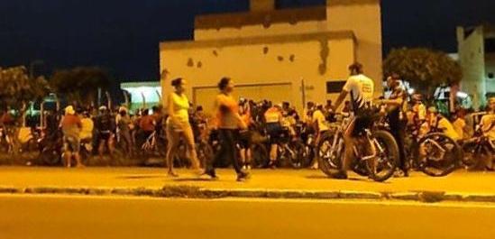 Guarda Municipal intervem após pelotão de ciclistas promover aglomeração em Santa Cruz do Capibaribe