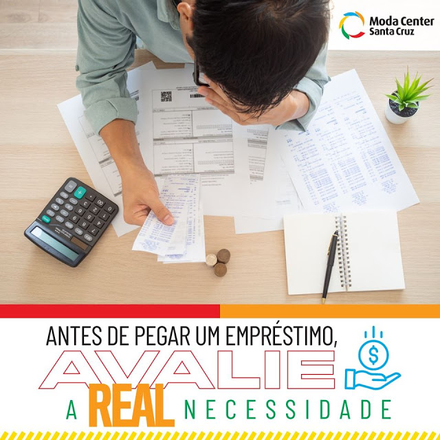 Antes de pegar um empréstimo, avalie a real necessidade