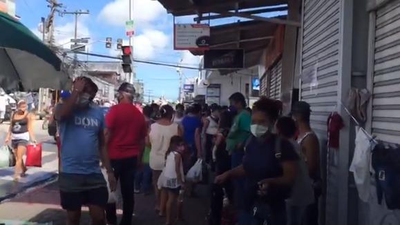 Feira proibida não impediu que Feira da Sulanca de Caruaru lotasse nesta segunda (22)