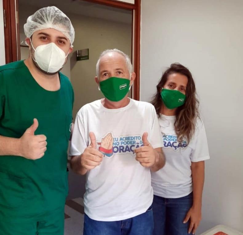 Hilário Paulo tem alta médica e deve reassumir prefeitura de Brejo da Madre de Deus nas próximas horas