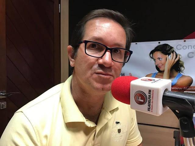 Presidente da Câmara Municipal de Taquaritinga do Norte, Prof. Jurandi, testa positivo para Covid-19