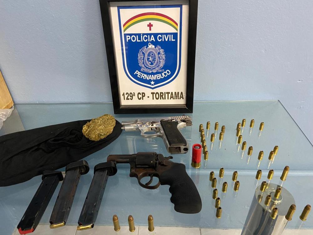 Polícia realiza busca e apreensão na cidade de Toritama