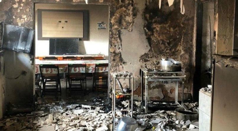 Incêndio atinge parte da sede do Atlético-PB e jogadores fogem pela janela do 1º andar