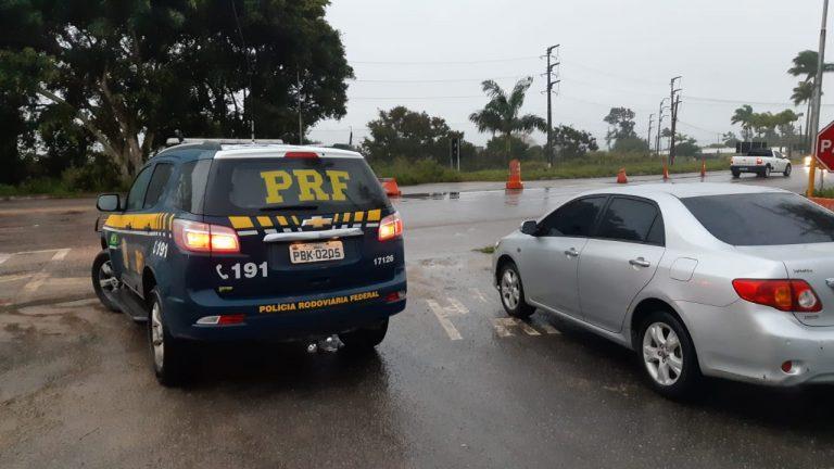 Caminhonetes, carro e moto roubados são recuperados pela PRF no Agreste de Pernambuco