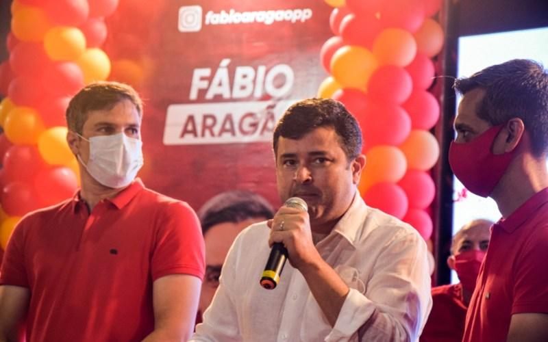 Fábio Aragão e Helinho Aragão realizam ato de convenção partidária na Casa da Criança