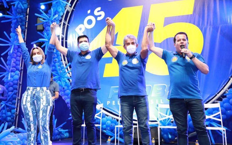 Dida de Nan e Joselito Pedro realizam convenção partidária no Rota do Mar Club