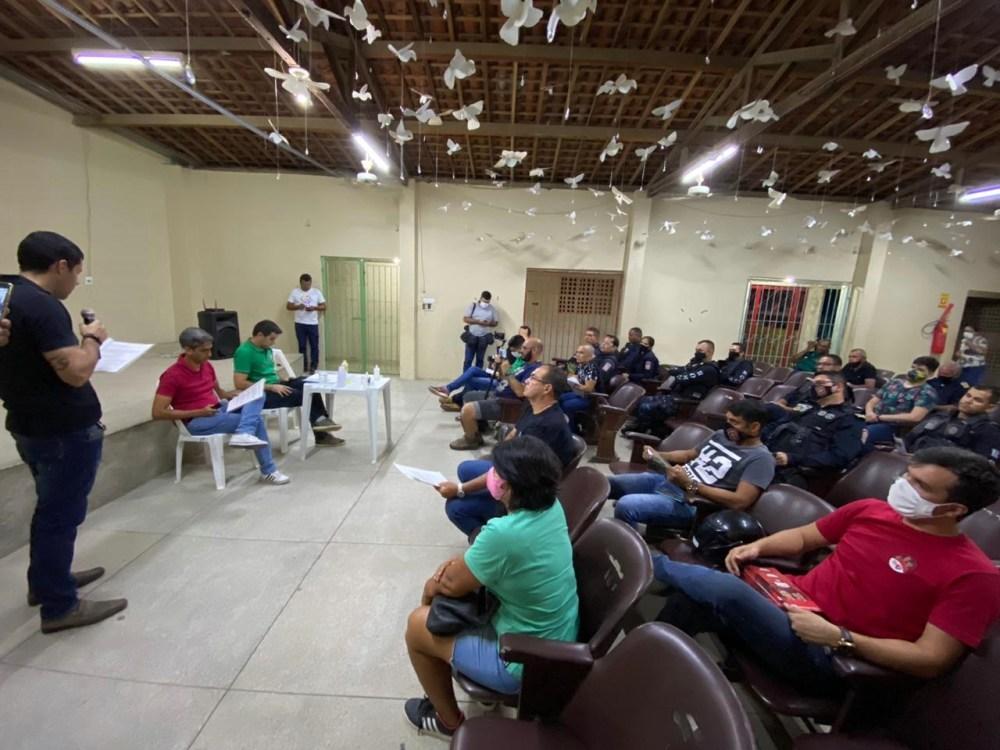Allan Carneiro e Fábio Aragão participam de sabatina com membros da Guarda Municipal