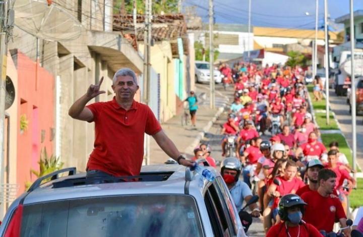 Com 47,6% dos votos válidos, Lero é reeleito prefeito de Taquaritinga do Norte