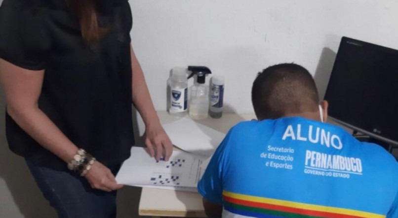 Por meio do Projovem, reeducandos de Pernambuco concluem o ensino fundamental