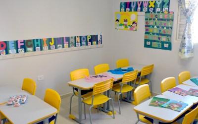Após oito meses, alunos do ensino infantil retornam  às salas de aula da rede particular