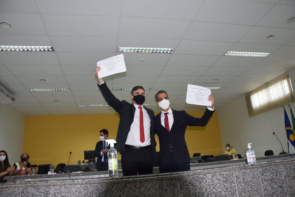 Prefeito eleito, Fábio Aragão, é diplomado pela Justiça Eleitoral