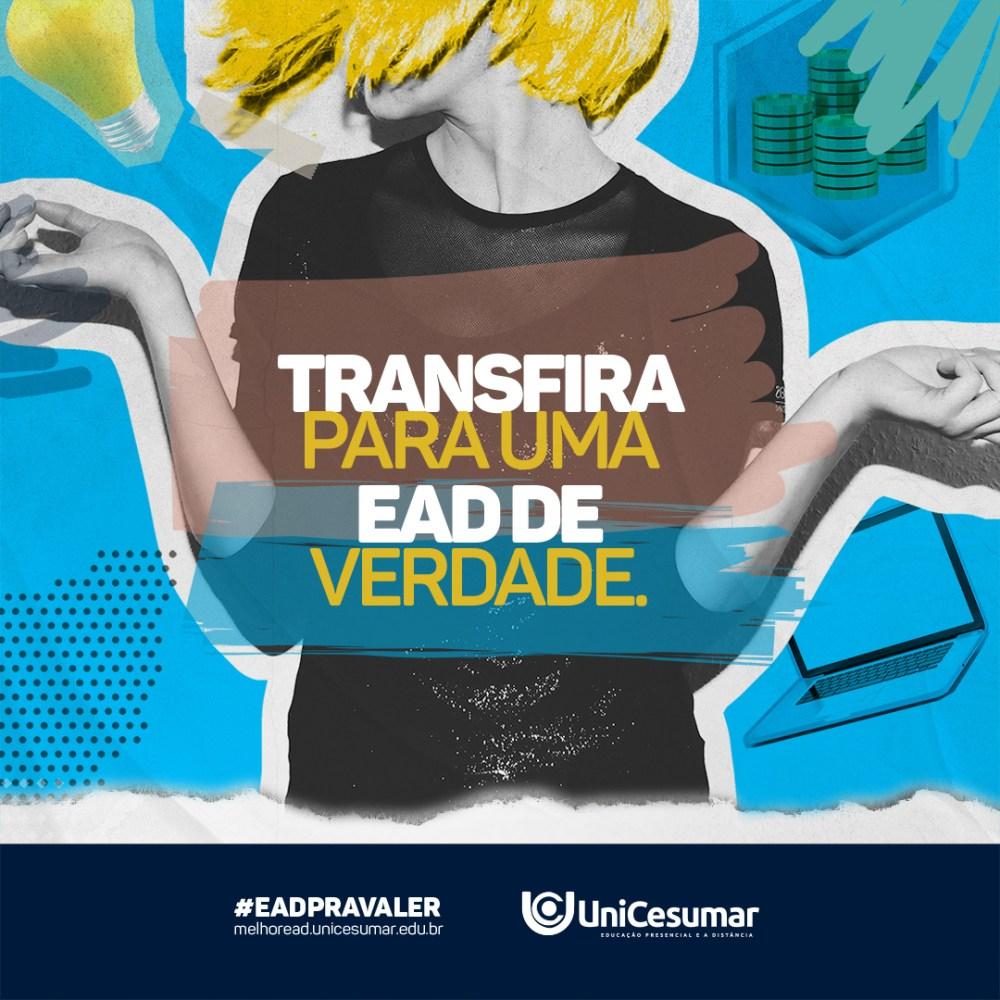 Unicesumar concede até 30% para alunos transferidos de outras faculdades