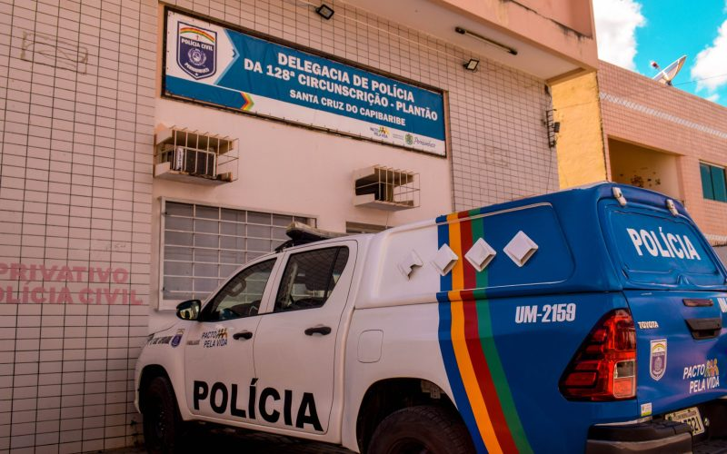 Em Santa Cruz do Capibaribe, jovem é preso após concluir a prova do Enem