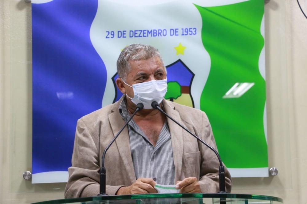 Zé Boi faz primeiro discurso na tribuna pela legislatura 2021
