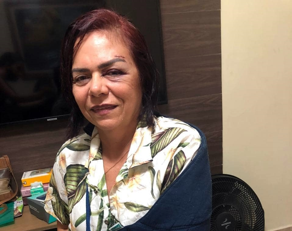 Ex-candidata a vereadora Nete Vieira esclarece atropelamento que sofreu