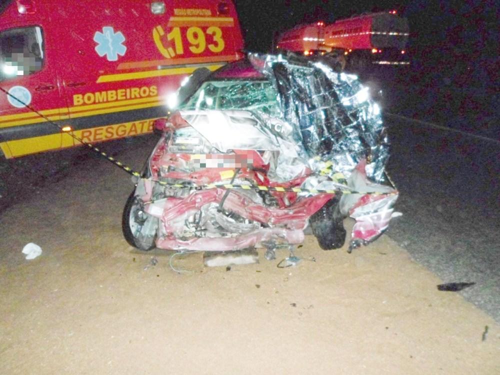 Acidente entre carro e caminhão deixa um morto em Pesqueira, no Agreste do estado