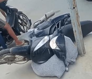 Colisão entre duas motocicletas deixa dois homens feridos em Santa Cruz do Capibaribe