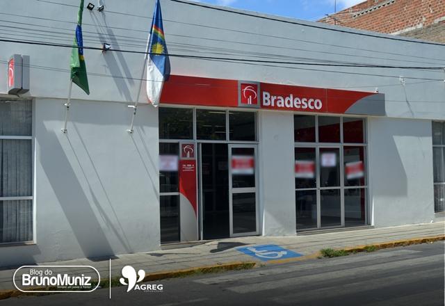 Agência do Bradesco em Santa Cruz do Capibaribe é fechada para procedimentos de prevenção contra o coronavírus