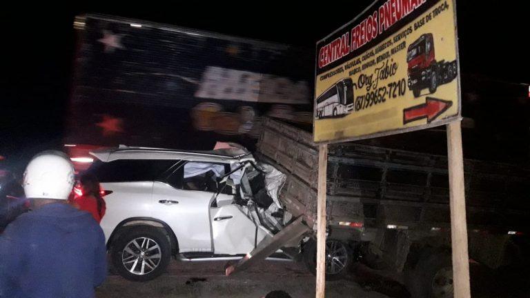 Acidente deixa três pessoas mortas em Lajedo