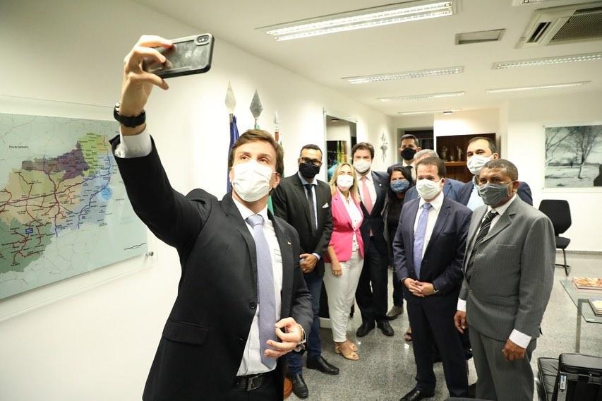 Edson Vieira e sua base cumprem agenda em Brasília, no Distrito Federal